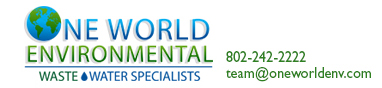 One World Environmental wastewater specialists, bennington vt 05201