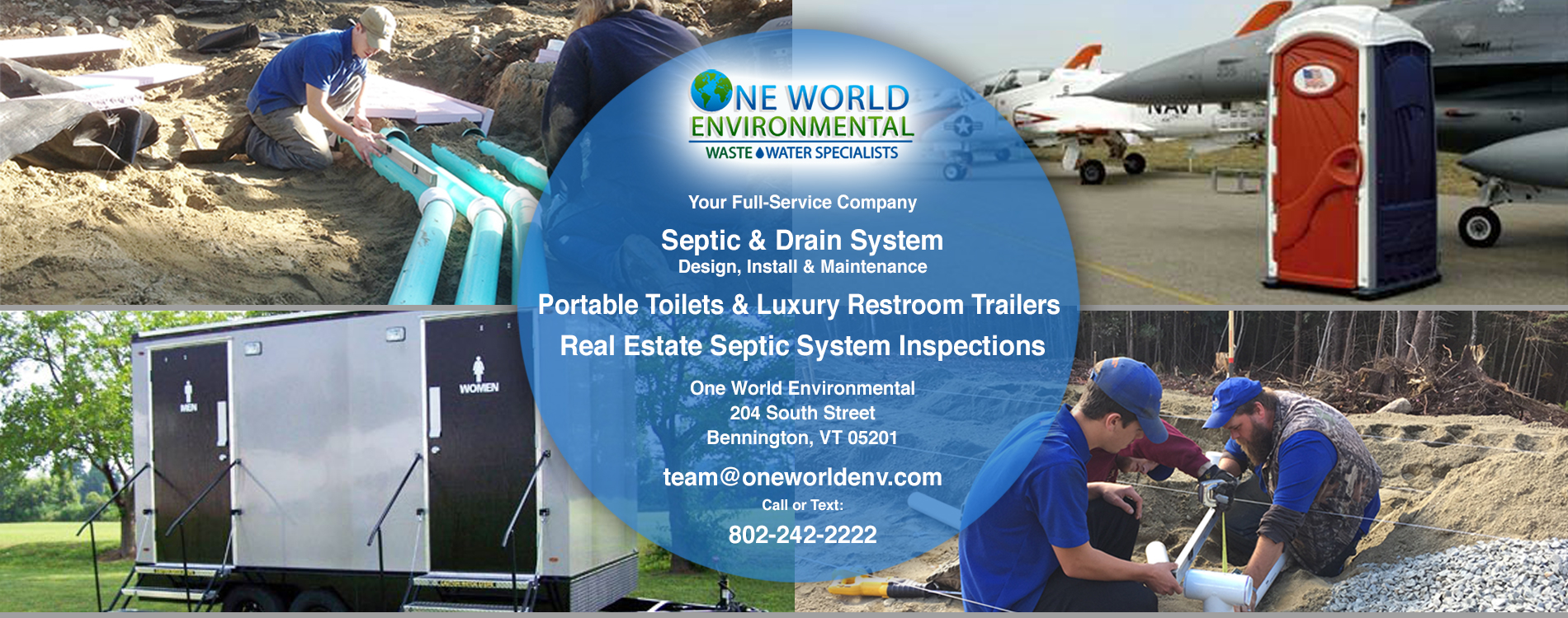 luxury bathroom trailers, construction job-site portable toilets