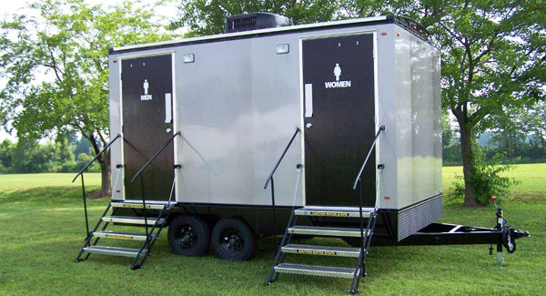 portable toilets porta potty portable luxury restrooms trailers bennington vermont eastern