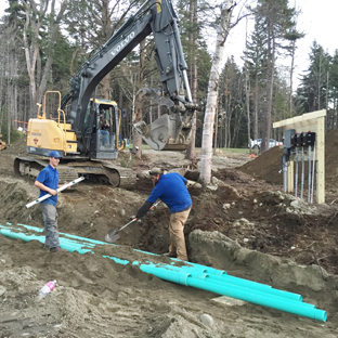 septic system design, install, maintain